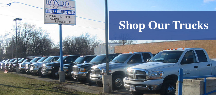 Rondo Enterprises - Shop Our Trucks