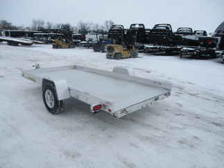 2019 Aluma 72x12  Aluminum Single Axle Utility 7212HSLR