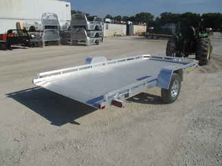 2019 Aluma 78x14  Aluminum Single Axle Utility 7814STILT