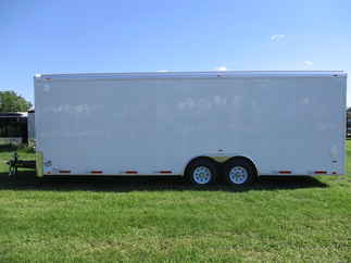 2018 Atlas 8.5x24  Enclosed Car Hauler AA8524TA3