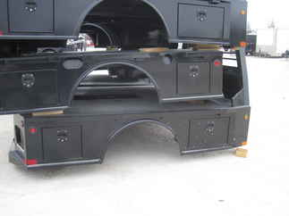 AS IS CM 9.3 x 94 SK Flatbed Truck Bed