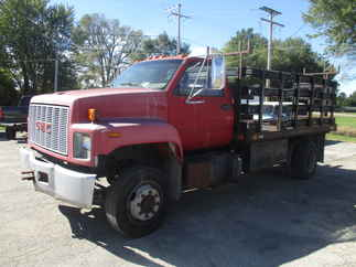 1990 GMC Top Kick C6H042 RC DRW  Flatbed