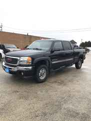 2004 GMC 2500HD Crew Cab Short Bed SLE