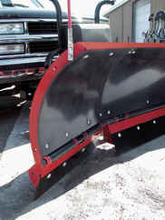 NEW Hiniker 8 Scoop Poly Plow - Torsion Spring Trip (QH2).