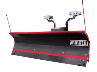 SOLD OUT - Hiniker 8 Poly Straight Plow - Torsion Spring Trip (QH2) - Available for Special Order. Call for Price.