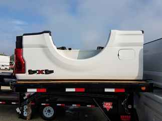 USED Truck Bed only 2017 Ford  F250 SRW SB White