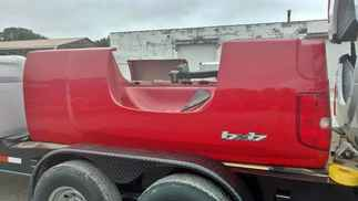 USED Truck Bed only 2014 Chevy  2500 SRW LB Red