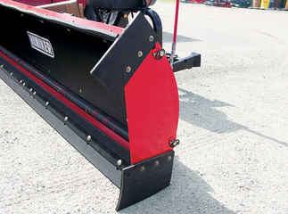 New Hiniker 7812 Model, Straight Torsion Spring Trip Poly Straight Blade, QH2