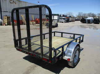 2019 PJ Trailer 60x8 U6 Single Axle Utility U620831DSGK