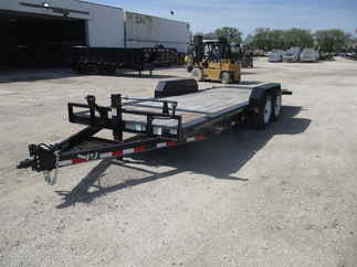 2017 PJ Trailer 82x20 TJ Equipment Tilt TJT2082BTT0T-DR02-FE06