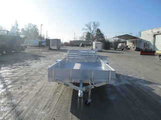 2019 Aluma 81x15  Aluminum Single Axle Utility 8115SR
