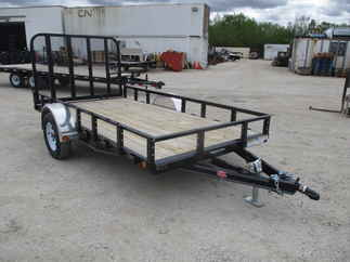 2019 PJ Trailer 72x12 U2 Single Axle Utility U221231DSGK