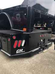 AS IS CM 7 x 97 SK Flatbed Truck Bed