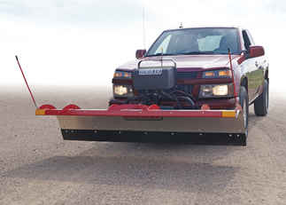 SOLD OUT - Hiniker 7 Tilt-Lift Stainless Straight Plow (QH1). - Available for Special Order. Call for Price.