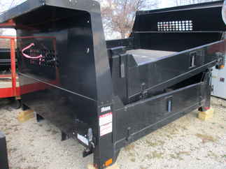 AS IS CM 9 x 97 DP Flatbed Truck Bed