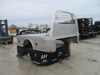 AS IS CM 8.5 x 97 SK Flatbed Truck Bed
