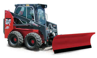 New Hiniker 2285 Model, Straight Conventional with crossover relief valve Steel Straight Blade, Skid Steer