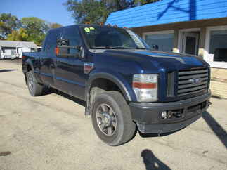 2008 Ford F250 Crew Cab Short Bed FX4