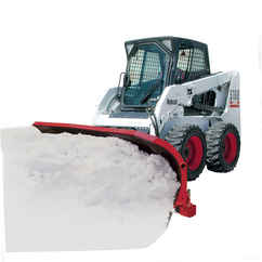 SOLD OUT New Hiniker 2682 Model, Scoop Torison Spring Trip with crossover relief valve Poly Scoop, Skid Steer