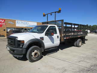 2009 Ford F450 Regular Cab Flatbed XL