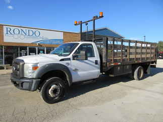 2011 Ford F550 Regular Cab Flatbed XL