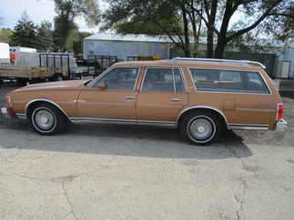 1978 Chevy Caprice Station Wagon   Classic