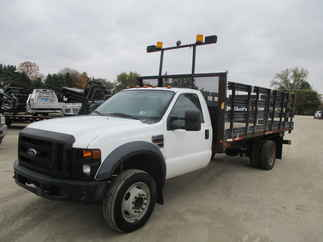 2008 Ford F450 Regular Cab Flatbed XL