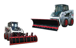 New Hiniker 2881 Model, C-Plow Compression Spring Trip with crossover relief valve Poly C-Plow, Skid Steer