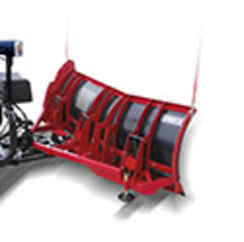 Special Sale Price on NEW Hiniker 8 Scoop Poly Plow - Compression Spring Trip - Limited Qty available   (replaced by Torsion trip model).