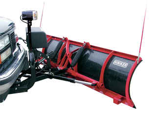 SOLD OUT - NEW Hiniker 7.5 Mid-Size Poly Straight Plow - Full Trip (QH1) - Available for Special Order. Call for Price.