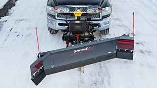 ON SALE New SnowEx 8100 Power plow Model, Power Plow Steel Scoop, Automatixx Attachment System