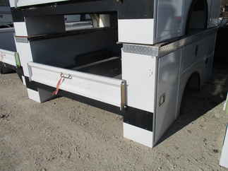 AS IS CM 9.2 x 94 SB Flatbed Truck Bed