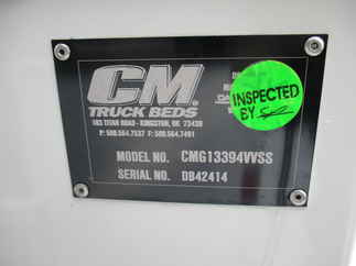 NEW CM 11.08 x 94 SB Flatbed Truck Bed