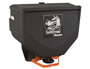 Special Sale Price on NEW SaltDogg (Buyers) Tailgate Spreader, Low-Profile w/Vibrator, 10 cu ft. Payment must be cash or check.