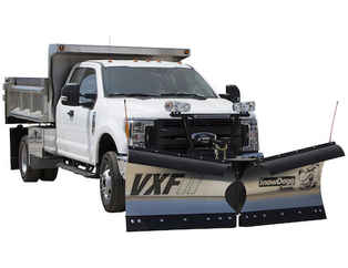 SOLD OUT New Buyers VXF85II Model, V-plow Flare Top, Trip edge Stainless Steel V-Plow, Standard